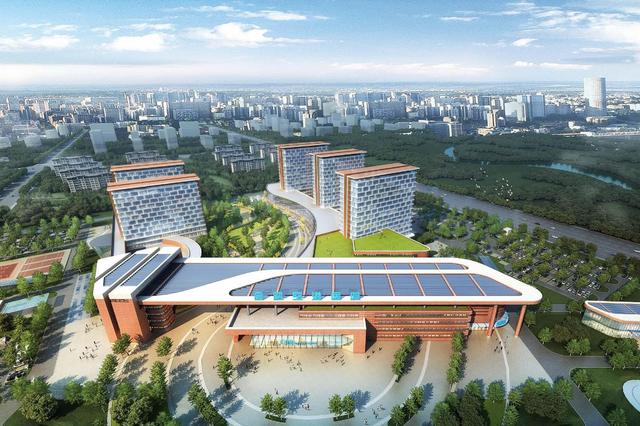 合肥空港首家三甲医院规划方案出炉 将建智慧绿色医院