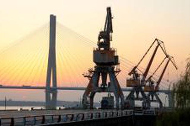 上半年安庆港生产经营再创佳绩