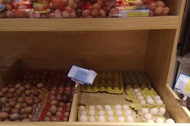 合肥鸡蛋6毛一个 预计价钱还会涨