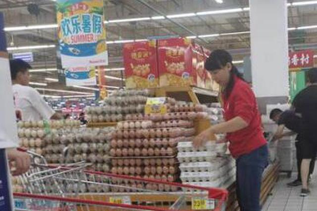 """部分地方鸡蛋价格一斤超6元 """"火箭蛋""""卷土重来"""