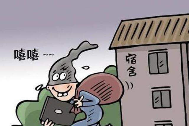 """铜陵一小偷""""高调""""盗窃 差点""""蒙混过关"""""""