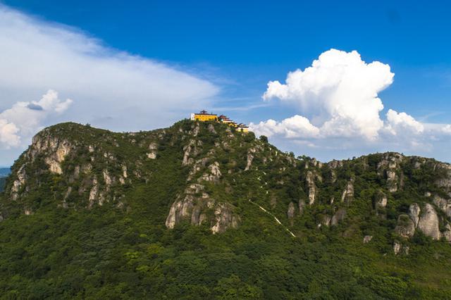 安徽庐江:山水岱鳌 生态画卷