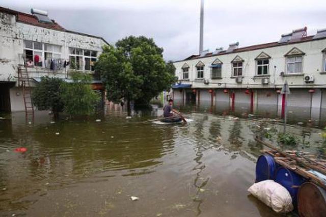 宣城受灾群众陆续恢复生活生产