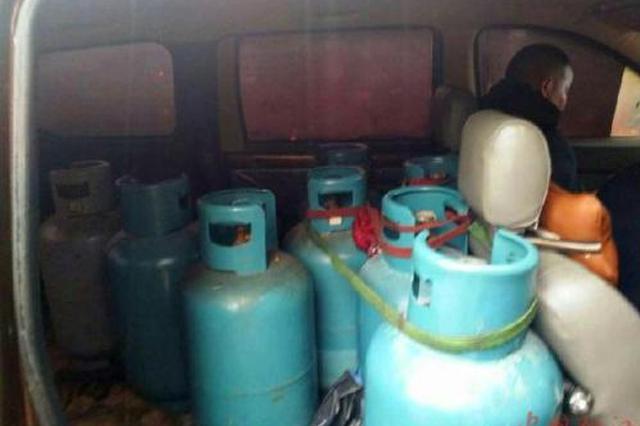 非法运输瓶装液化气 罔顾安全男子被拘留