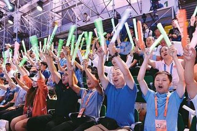 第二届青年运动会闭幕 安徽代表团共收获45枚金牌