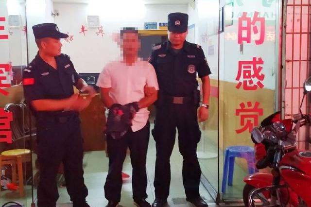 一网逃以为风头已过现身泾县收集古钱币 被警方抓获