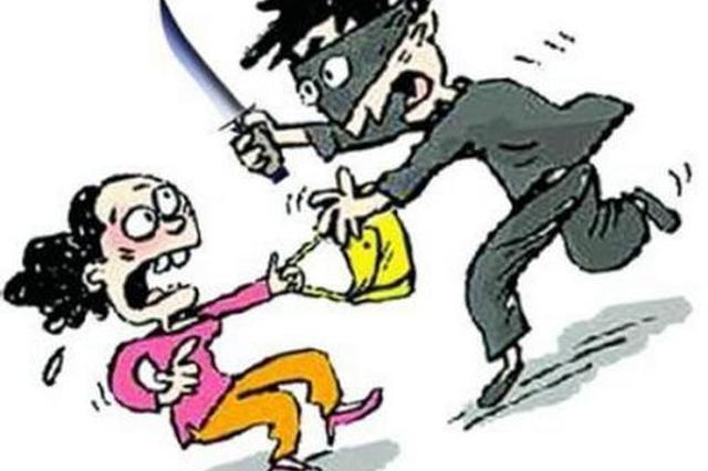 银行发生抢劫案 男子被刺中两刀