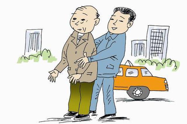 异地老人送孙子上学迷失街头 热心民警全力寻回