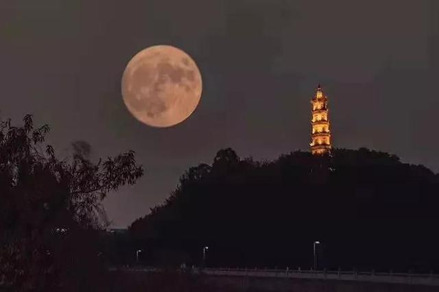 中秋赏月在霍山 最是中秋月圆时