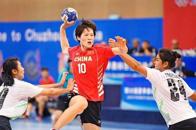 第32届夏季奥运会女子手球亚洲区资格赛滁州落幕