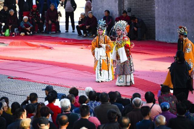 安徽亳州:百场大戏唱金秋