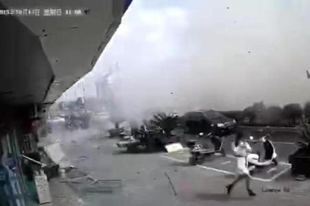 江苏无锡一小吃店爆炸 应急管理部派出工作组