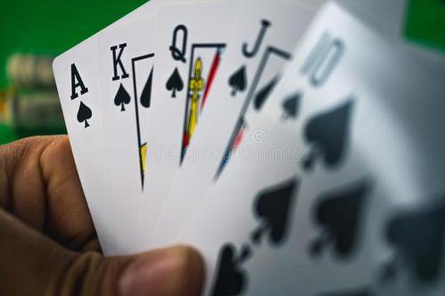 动心思 赌徒用记分卡代替现金来赌博