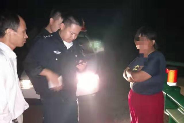 巢湖警民爱心接力帮流浪女回家