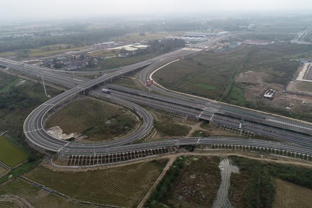 合安高速舒城新互通局部开通