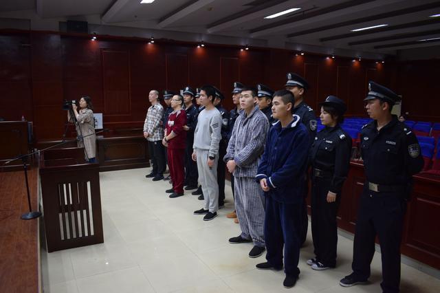 蚌埠市中院对两起恶势力犯罪集团案件作出二审宣判