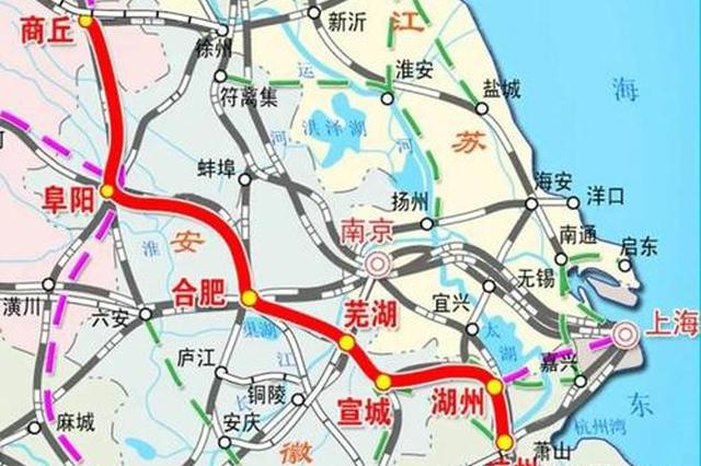 商合杭高铁合肥以北段将开始试运行