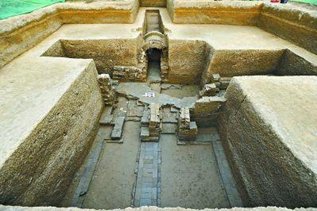 淮北发现87座汉代墓葬