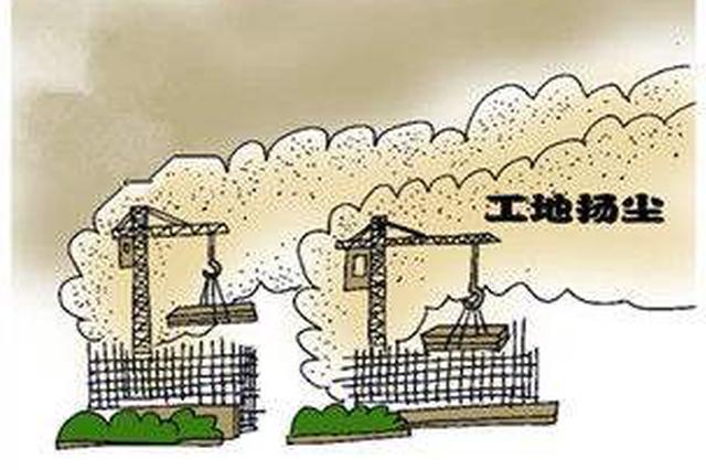 """淮北市住建局""""重拳""""整治建筑扬尘改善空气质量"""