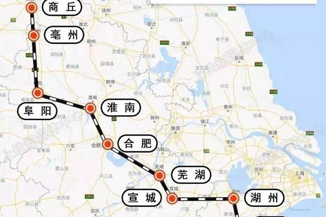商合杭高铁合肥北段将于12月1日开通