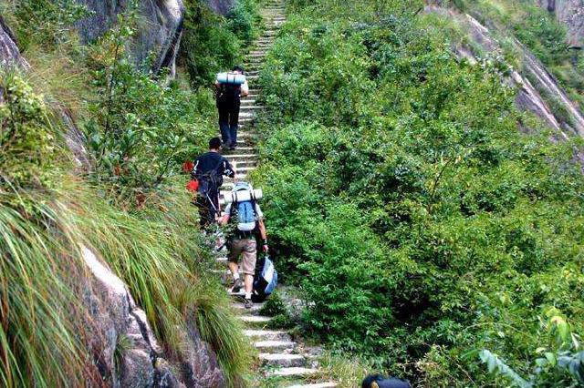 7名驴友擅闯黄山国家级自然保护区被依法处罚