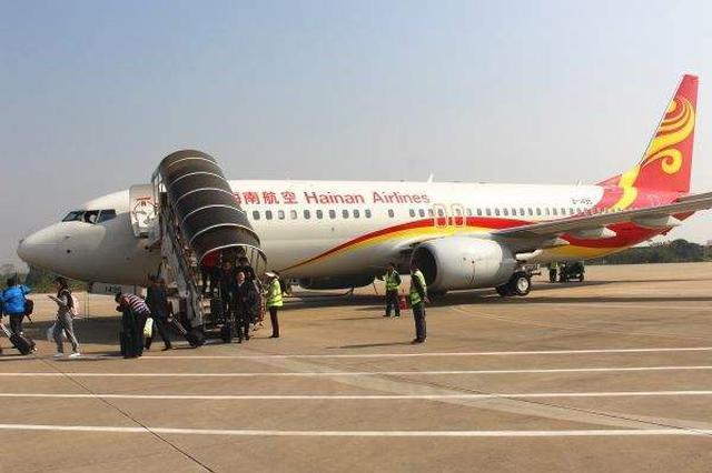 安庆天柱山机场旅客吞吐量突破50万人次