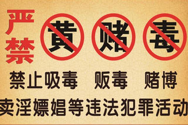 """芜湖法院集中宣判9起""""黄赌毒""""犯罪案件"""
