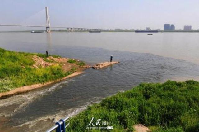 长江安徽段断面水质近年最好