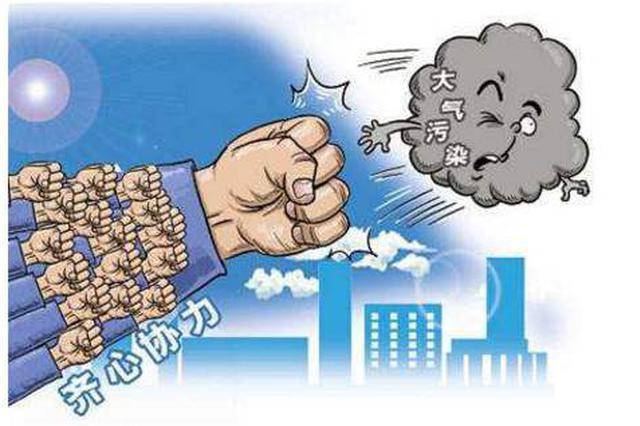 """安庆积极开展大气污染防治""""百日攻坚""""行动"""