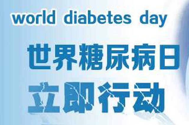 """""""世界糖尿病日""""芜湖市开展大型义诊活动"""