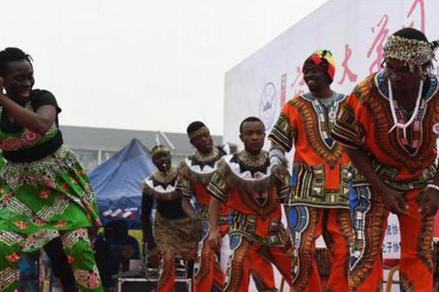 安徽:校园里的国际文化节