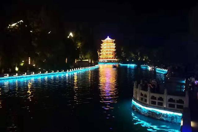 三河古镇调整灯光开放时段 静态夜景展示延长90分钟