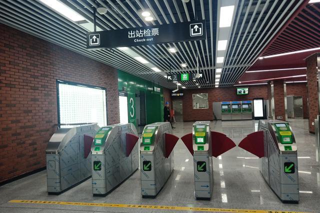 合肥地铁3号线五大文化站正式亮相