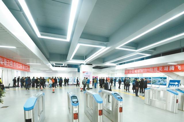 轨道交通首个车站梦溪路站基本建成