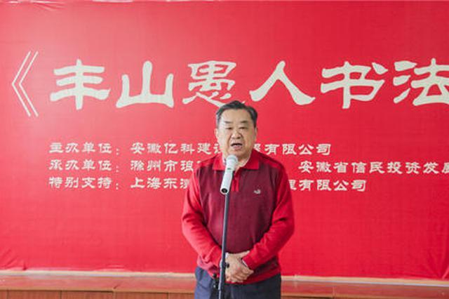 滁州市开展书法交流 提升素质水平