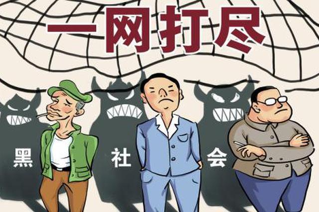 乌合巡逻队实施软暴力 13人涉恶团伙在淮南受审