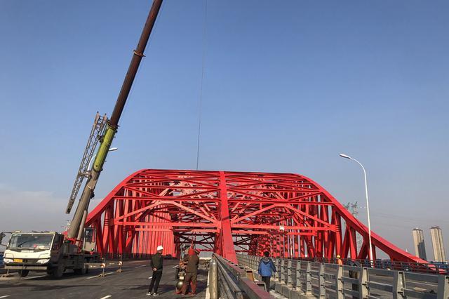 合肥集贤路跨派河桥10日零时正式放行