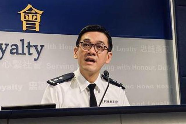 香港警方自修例风波以来拘捕6000多人 近四成为学生