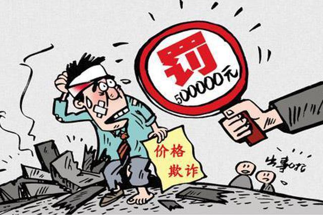 安徽省安福置业有限公司因价格欺诈被罚40万元