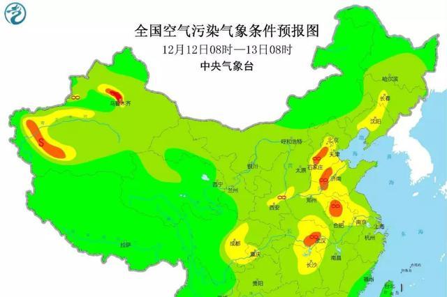 紧急提醒 北方污染物正在飘向安徽