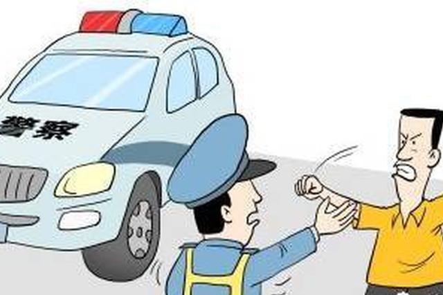 男子驾驶无牌摩托车被查 威胁交警被拘留