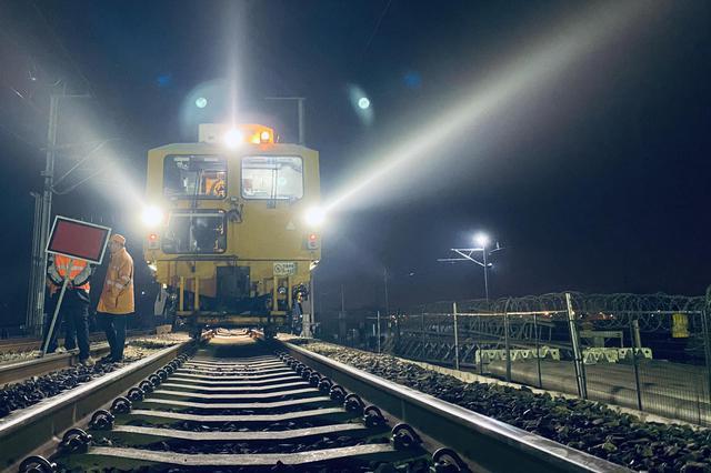 肥东站改造正式启动商合杭铁路合杭段距开通又近一步