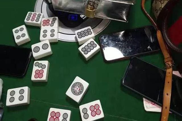 肥西捣毁一网络赌场场所