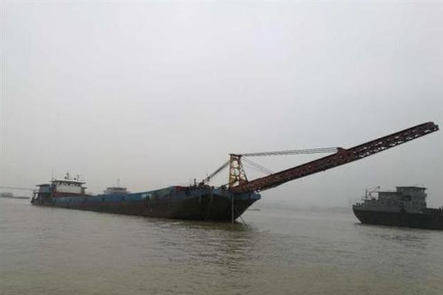 5个多月 他们盗采江砂18万余吨