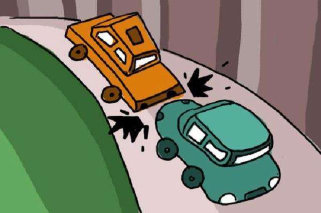 两车迎面相撞 一车主不幸身亡