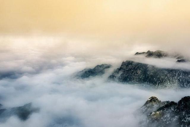 冬季九华山 别有一番韵味
