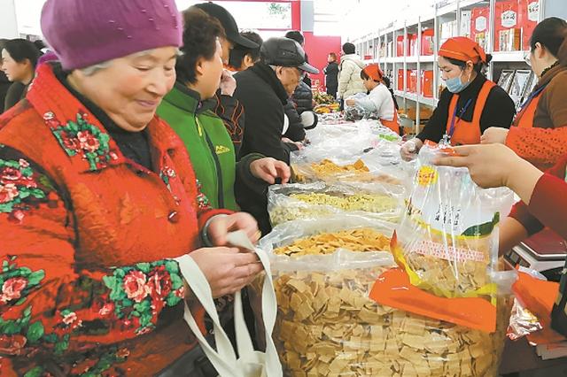 """马鞍山特色农产品走俏""""上海滩"""""""