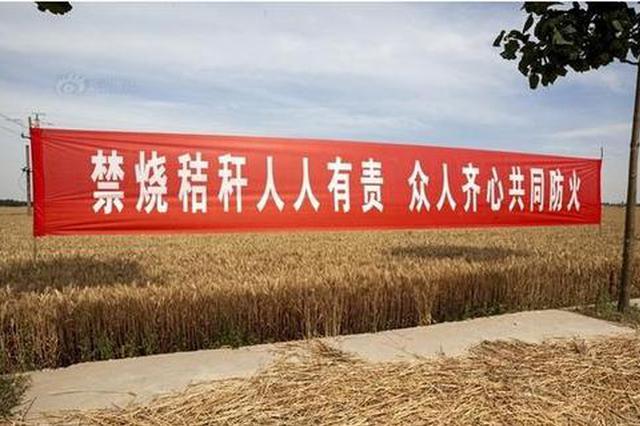秸秆禁烧不力 合肥滁州等5市被通报批评