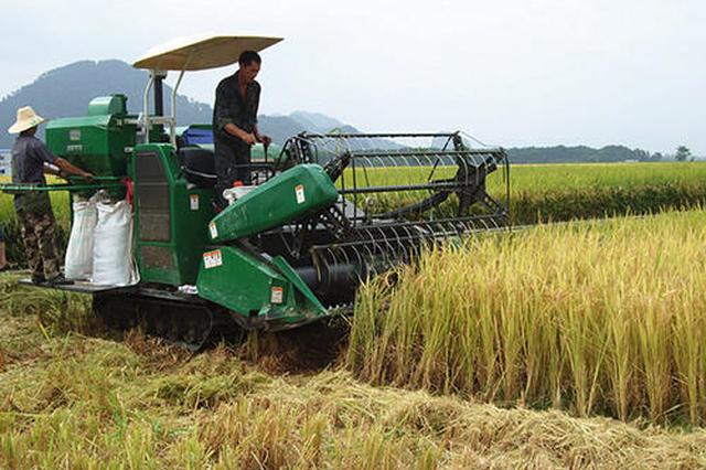 安徽又有一市八县基本实现主要农作物生产全程机械化