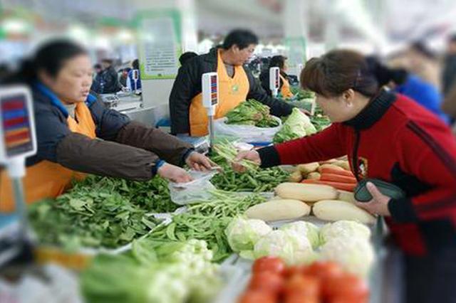 多部门检查节前农贸市场安全